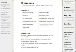 Recipe App Screenshot