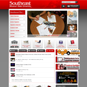 Southeast Website Screenshot